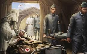 Игры: Солдаты, Раненые, Лазарет, Медсестра, Носилки, World of Tanks Generals