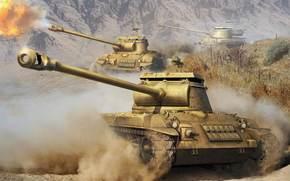 Игры: Танки, стреляет, Пыль, World of Tanks Generals
