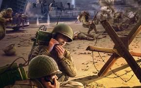Игры: Солдаты, Бой, Сражение, Высадка, Плацдарм, Радисты, Корабль, World of Tanks Generals