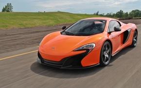 Машины: McLaren 650S, McLaren, дорога, скорость