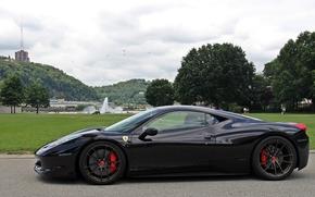Машины: Ferrari 458 Italia, Ferrari Italia, Ferrari, парк