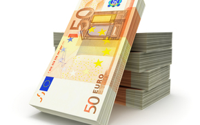 Разное: деньги, евро, банкноты, банкнота, купюра, пачка, пачки, валюта