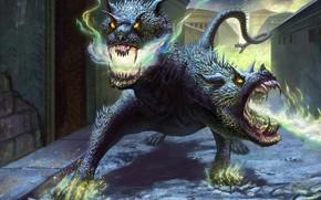 Фантастика: дракон, змей горыныч, фантастика