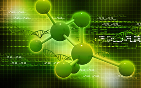 Рендеринг: молекула, наука, химия, атомы