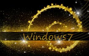 Hi-tech: windows, wallpaper, 3d