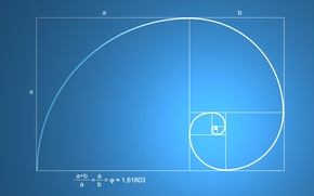 Разное: наука, математика, формула, золотое сечение, пропорция, гармоническое, деление