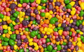 Текстуры: конфеты, драже, разноцветные, макро, текстура