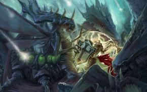 Игры: Heroes Of The Storm, Johanna, Crusader of Zakarum, Zagara, Broodmother of the Swarm