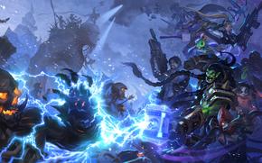 Игры: Heroes of the Storm, битва, сражение, магия