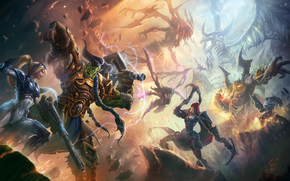 Игры: Heroes of the Storm, Nova, Dominion Ghost, Thrall, Warchief of the Horde, Valla, Demon Hunter, Raynor, Renegade Commander, Kerrigan, Queen of Blades, Diablo, Lord of Terror, Azmodan, Lord of Sin