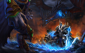 Игры: Heroes of the Storm, Arthas, The Lich King, Zeratul, Dark Prelate