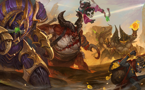 Игры: Heroes of the Storm, Anub'arak, Traitor King, Li Li, World Wanderer, The Butcher, Flesh Carver, Azmodan, Lord of Sin