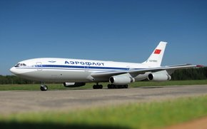 Авиация: самолёт, ИЛ-86, Аэрофлот, СССР