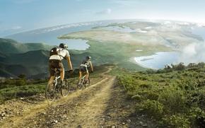 Разное: велосипед, Африка, Европа, мигранты, нелегалы