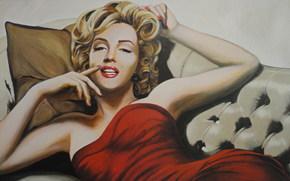 Кинозвезды: арт, Мэрилиин Монро, Marilyn Monroe, Norma Jeane Mortensоn, Norma Jeane Baker, Американская киноактриса, певица, секс-символ.
