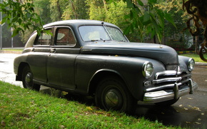 Машины: настоящий, советский, автомобиль, машина, времени, Победа, ГАЗ, М-20