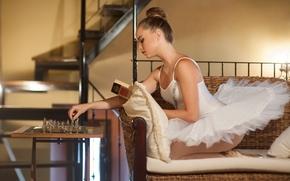 Настроения: Noemi Hopper, балерина, пачка, шахматы, настроение