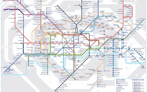 Разное: Карта, план, схема, метро, город, Лондон, Англия