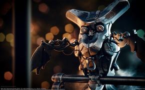 Фантастика: Mohammad Hossein Attaran, Mech Owl, механическая сова, сова, механика, робот