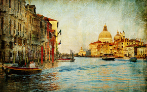 Стиль: vintage, Venice, Italy