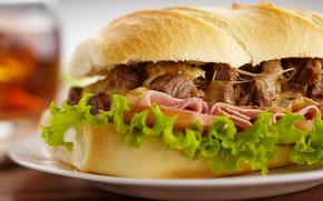 Разное: сэндвич, бутерброд, тарелка