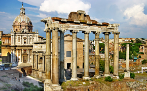 Стиль: Roman Forum, Roma, Italy, vintage