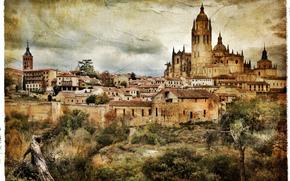 Стиль: Segovia, Spain, vintage