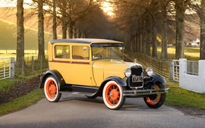 Машины: 1928 Ford Model A Tudor, Ford, Tudor, ретро, классика
