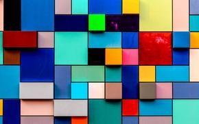Текстуры: квадраты, прямоугольники, разноцветные, текстура