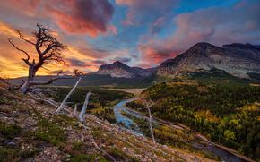 �������: Glacier National Park, ����, ����, �����, ������