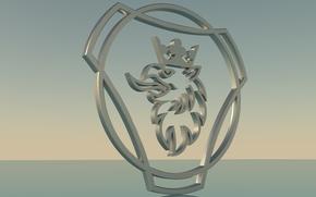 ���������: Scania_logo, ������, ������, ������� ������, 3D logo scania.