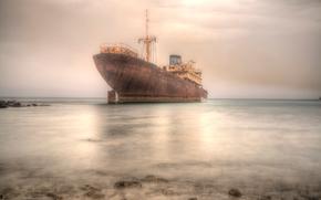 Корабли: судно, корабль, ржавый, море
