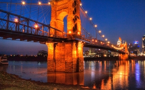 Город: Бруклинский мост, Brooklyn Bridge, Нью-Йорк, США (1)
