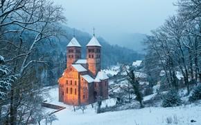 �����: Abbaye de Murbach, ���������, France