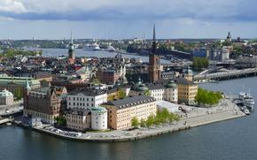 �����: Stockholm City, Hall tower, Sweden