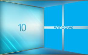Hi-tech: windows 10, wallpaper, ����