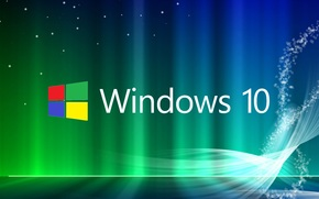 Hi-tech: windows 10, wallpaper, обои