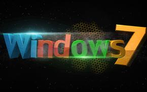 Hi-tech: windows 7, wallpaper, обои