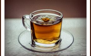 Настроения: чашка, цветок, чай