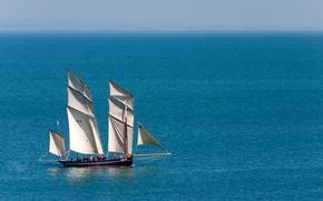 Корабли: La Cancalaise, парусник, люггер, море