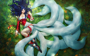 ����: Ahri, League of Legends, Games