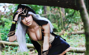 Игры: Ashe, League of Legends, cosplay