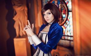 Игры: BioShock, BioShock Infinite, Elizabeth, cosplay