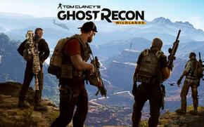 Игры: Ghost Recon, Ghost Recon Wildlands, Tom Clancy, Tom Clancy's Ghost Recon Wildlands, Games