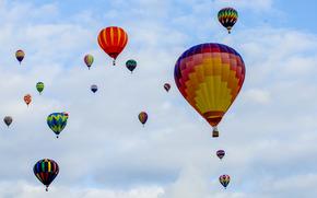 Разное: небо, воздушные шары, balloon festival