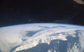 Космос: Полуостров Камчатка, МКС, Земля, космос