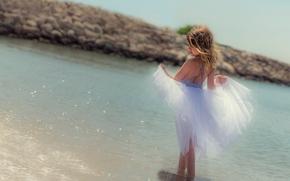 Настроения: девочка, юбка, море, настроение