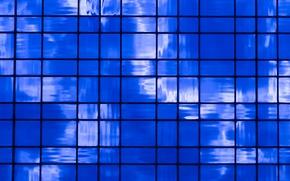 Текстуры: прямоугольники, блоки, синева, текстура