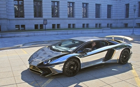 Машины: Lamborghini Aventador LP 750-4 SuperVeloce, Lamborghini Aventador, Lamborghini, Aventador, SuperVeloce, sports car
