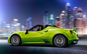 Машины: Alfa Romeo 4C, Alfa Romeo, sports car